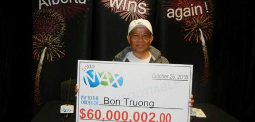 Man Wins $60 Million Lottery After Playing with the Same Numbers for More Than 20 Years