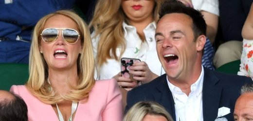 Ant McPartlin and Anne-Marie Corbett take relationship to next level
