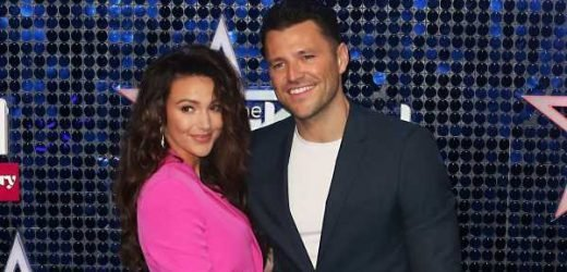 Michelle Keegan and husband Mark Wright have argument live on air as married couple quibble over breakfast plans and who's messiest