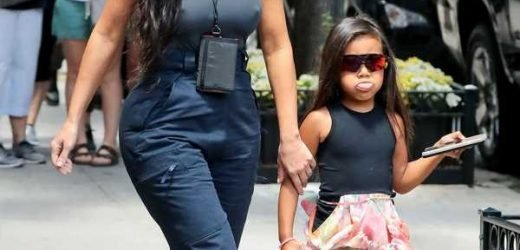 Kim Kardashian's Instagram Of North West's Outfits Show A Fashion Queen In The Making