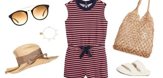 3 Ways to Wear This Supercute and Comfortable $37 Romper For Summer