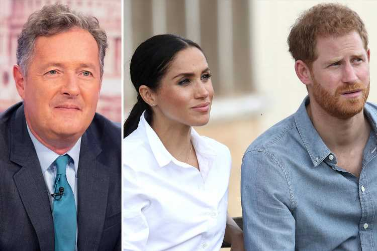 Piers Morgan slams Meghan Markle and Prince Harry for 'saving the planet, one private jet at a time' – The Sun