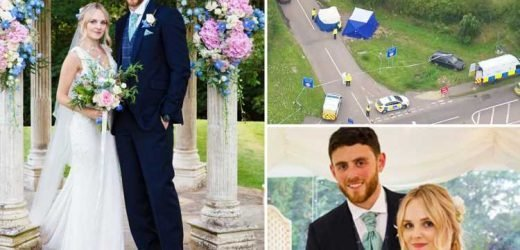 'Murdered' Thames Valley cop PC Andrew Harper 'was newlywed due to go on his honeymoon next week' as boy, 13, among 10 arrested