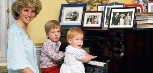 Princess Diana Had the Sweetest Bedtime Routine With Sons Prince William and Harry