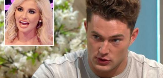 Curtis Pritchard admits reunion with Amy was 'awkward' because of his 'feelings' for her at Love Island after party