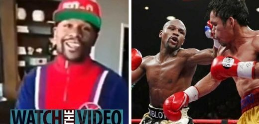 Floyd Mayweather Jr says he is on his way to Saudi Arabia to discuss the rematch with Manny Pacquiao – The Sun