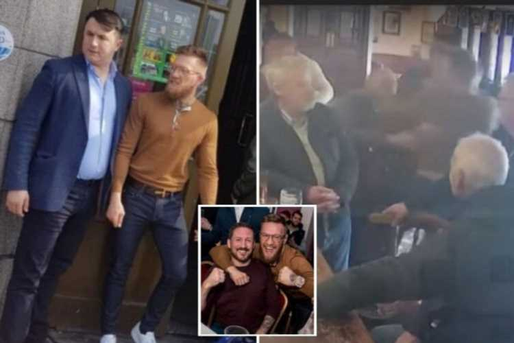 UFC star Conor McGregor to be charged over alleged assault of man in Dublin pub after CCTV emerges online