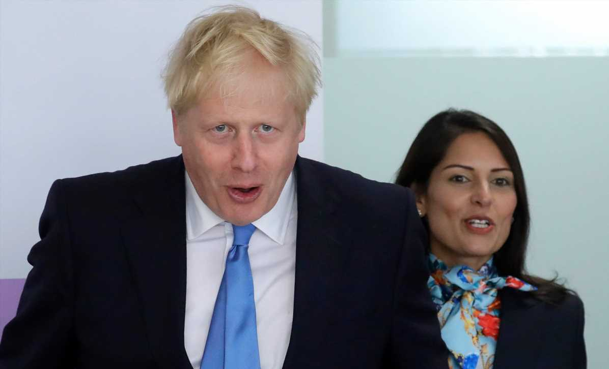 New sheriffs-in-town Boris Johnson and Priti Patel are tough on crime and Brits don't mind – The Sun