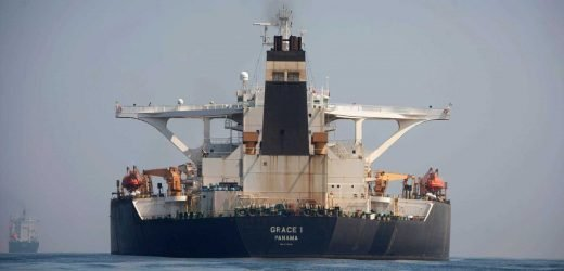 Seized Iranian supertanker that pushed UK-Tehran relations to the brink is RELEASED, Gibraltar reports claim