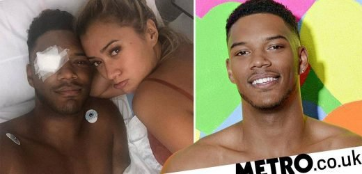 Love Island's Theo Campbell told he would 'lose his eye completely'