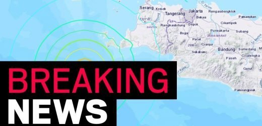 Huge earthquake sparks tsunami warning as people are told to seek higher ground
