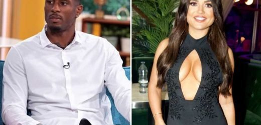 Love Island's Ovie says he's not in love with India and is taking the relationship in his stride as he tries to negotiate his return to the UK