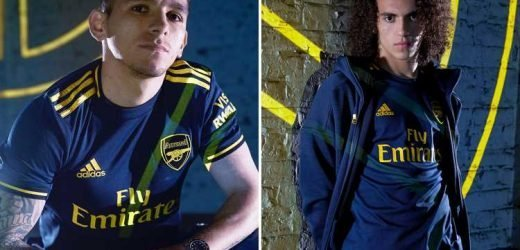 Arsenal release new blue third kit… and even rival Spurs fans are drooling at it – The Sun