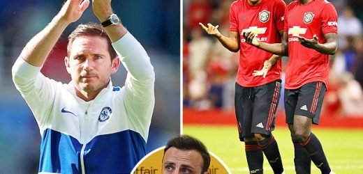 Berbatov deals Man Utd blow as he predicts Lampard's Chelsea will beat them to top-four spot – The Sun