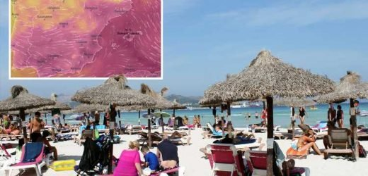 Majorca to roast in 38C heatwave this week as Brit tourists face Palma airport chaos thanks to passport staff strike