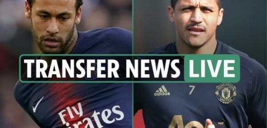 10pm transfer news LIVE: Neymar to Barcelona LATEST, Alexis Sanchez closes in on Inter Milan switch, – The Sun