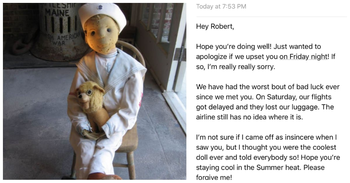 I Visited a Notoriously Haunted Doll, and Bad Luck Followed Me Everywhere