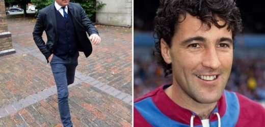 Dean Saunders told 'you're not above the law' by judge as ex-Villa striker vows to appeal 'excessive' jail-term for drink-drive breath test