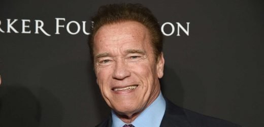 Watch Arnold Crush a Shoulder Workout Just Days After Being Drop-Kicked