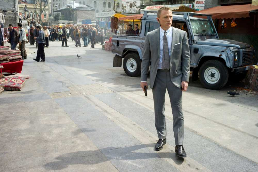 Daniel Craig's best outfits from 13 years of James Bond films
