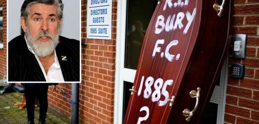 EFL must save Bury today and probe Steve Dale as he demands £810k pay-off for club he bought for just £1 as it sits on brink of extinction – The Sun