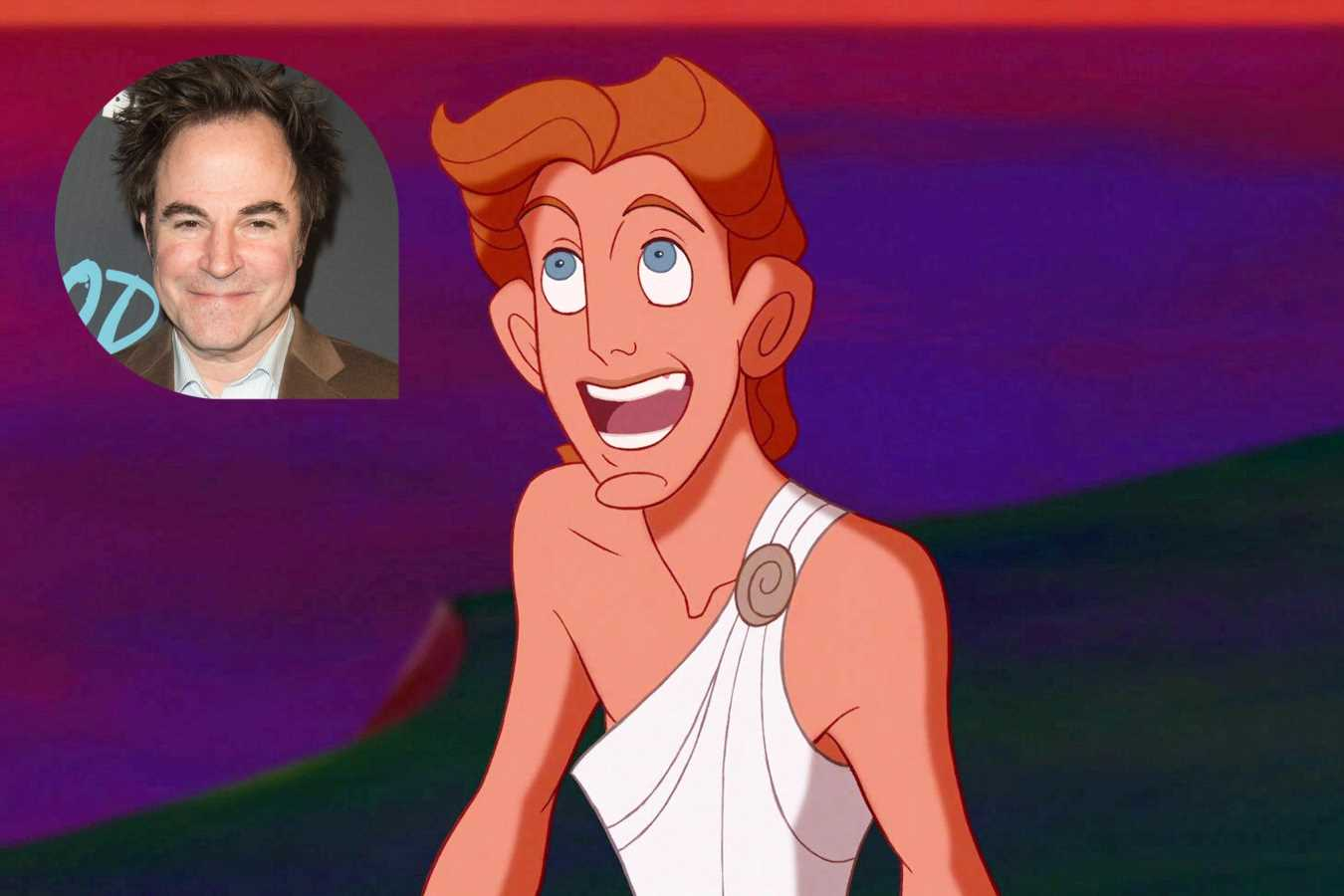 Original Hercules voice actor Roger Bart talks playing Hades on stage