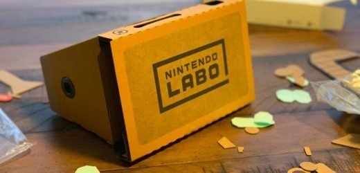 Video Game Review: Nintendo Labo Toy-Con VR