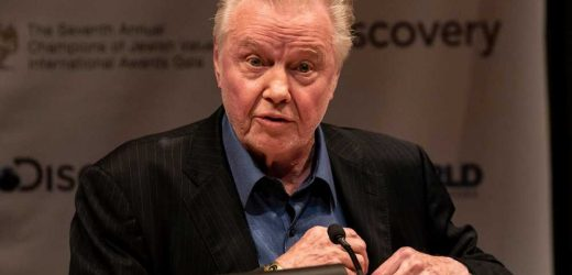 Jon Voight says racism was 'solved long ago'