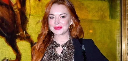 So Lindsay Lohan Has Apparently Been Throwing Tantrums While Filming 'The Masked Singer'