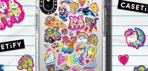 Lisa Frank x Casetify Collab Is an '80s & '90s Dream Come True