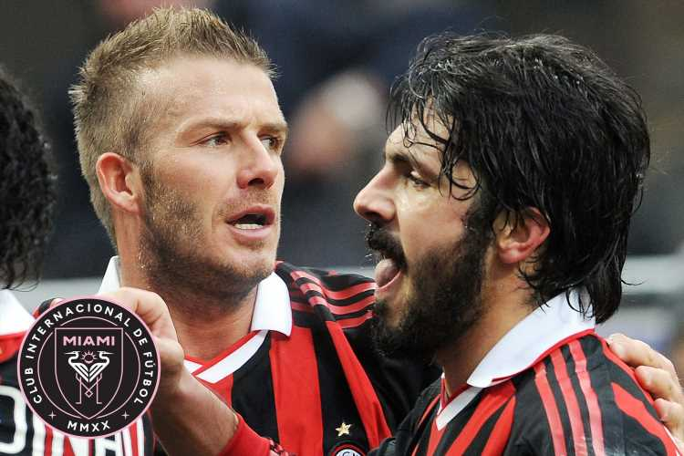 David Beckham wants former AC Milan team-mate Gennaro Gattuso to be Inter Miami's first manager – The Sun