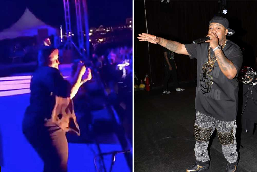 Sign language interpreter's 'rap' with Twista steals show