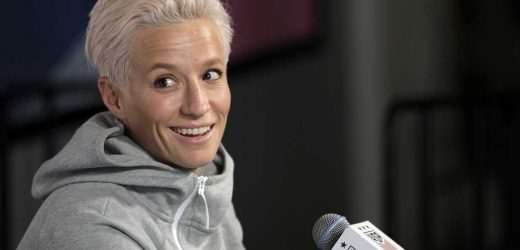 Megan Rapinoe says her parents 'need to go to therapy' for watching Fox News