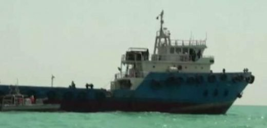 Iranian supertanker US tried to seize moves toward unknown destination