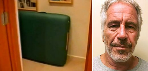 Jeffrey Epstein Florida mansion police video shows massage tables allegedly used for sex with minors
