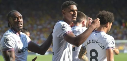 Watford 1-3 West Ham United: Sebastien Haller's second-half brace secures points