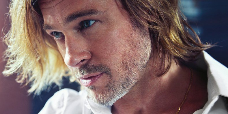 See Brad Pitt As a Hollywood Chameleon