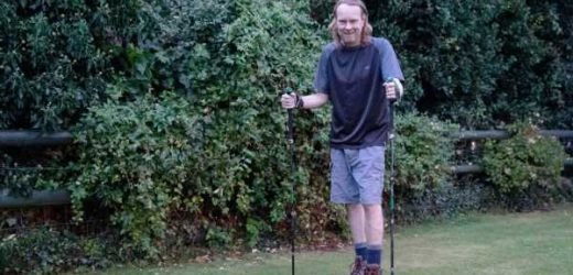 Man with stage four cancer completes 'Britain's hardest walk' for charity