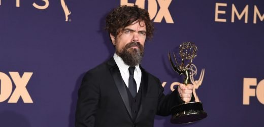 Game Of Thrones' Peter Dinklage turns the air blue during his acceptance speech