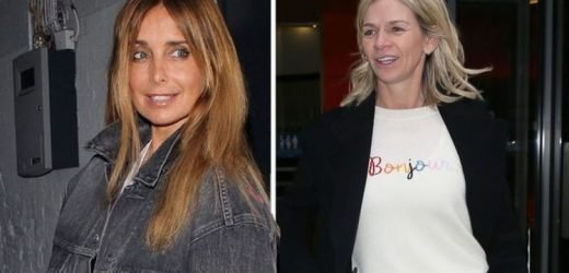 Louise Redknapp: Jamie Redknapp's ex exchanges messages with Zoe Ball's radio co-star