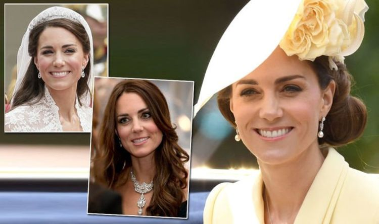 Kate Middleton: Jewellery from the Royal Collection Kate has worn – but Meghan has not