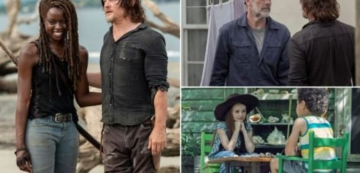 The Walking Dead season 10, episode 1: FIRST look pictures from series premiere revealed