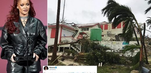 Rihanna vows to help the Bahamas after Hurricane Dorian