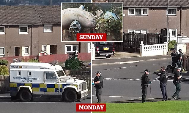 Bomb found in parked vehicle in Londonderry `meant for police patrol´