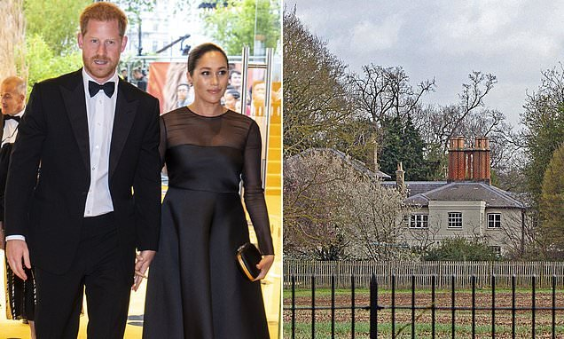 Harry and Meghan build a £4,000 'barbecue area' at Frogmore