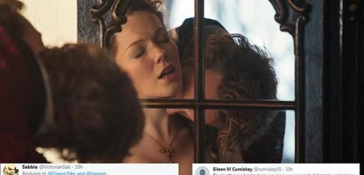 Sanditon viewers brand incest kiss far from any Jane Austen creation