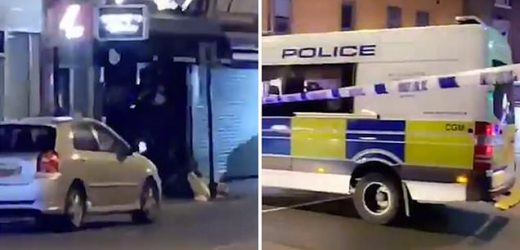 Woman, 46, is rushed to hospital after being shot in north London
