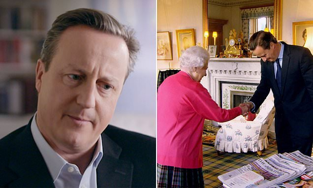 David Cameron's comments about Queen led to 'displeasure' at Palace