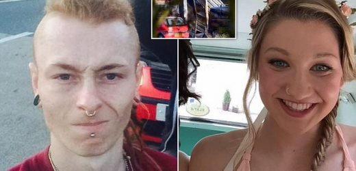 Swimmer and boyfriend roasted to death when when barn caught fire