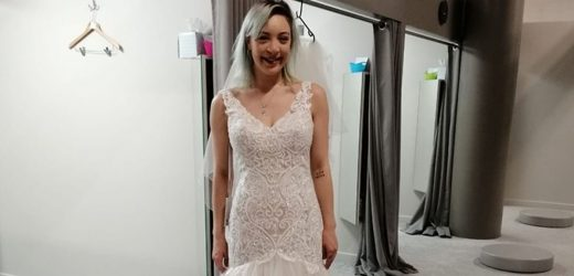 Troll steals pics of bride-to-be trying on wedding dress and sends them to groom